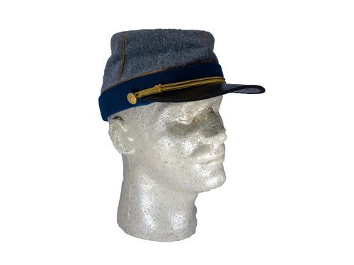 Reproduction Confederate CSA Officer's kepi P 34