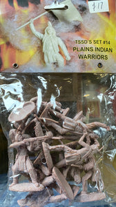 Toy Soldiers of San Diego Set 14 Plains Indian Warriors