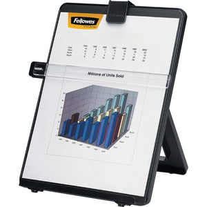 Fellowes Non-Magnetic Copyholder - Letter, Black - The Supply Room