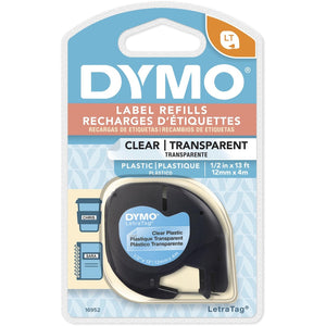 Dymo Letra Tag Labelmaker Tapes - The Supply Room