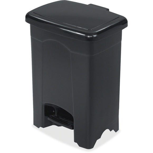 Safco Plastic Step-on 4-Gallon Receptacle
