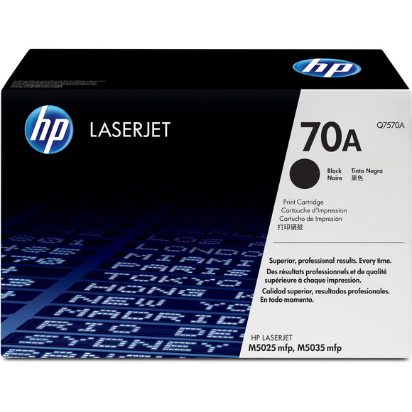 HP 70A (Q7570A) Original Toner Cartridge - Single Pack