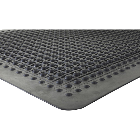 Genuine Joe Flex Step Rubber Anti-Fatigue Mats