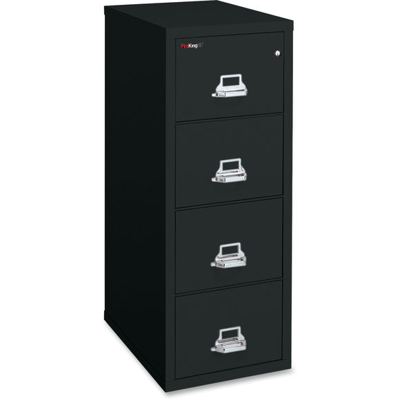 FireKing Insulated Four-Drawer Vertical File