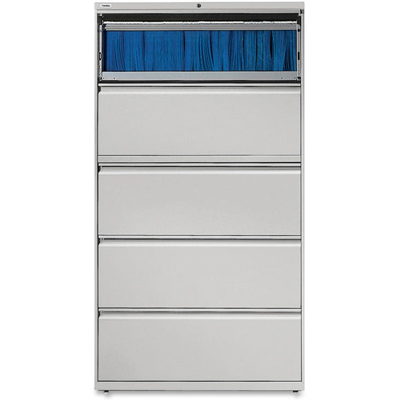 Lorell Lateral File - 5-Drawer