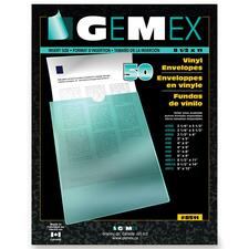 Gemex Clear Vinyl Envelopes