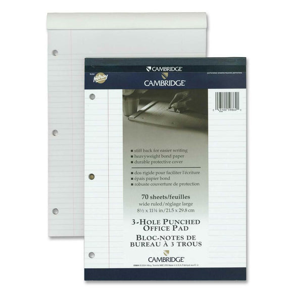 Hilroy Cambridge Office Notepad