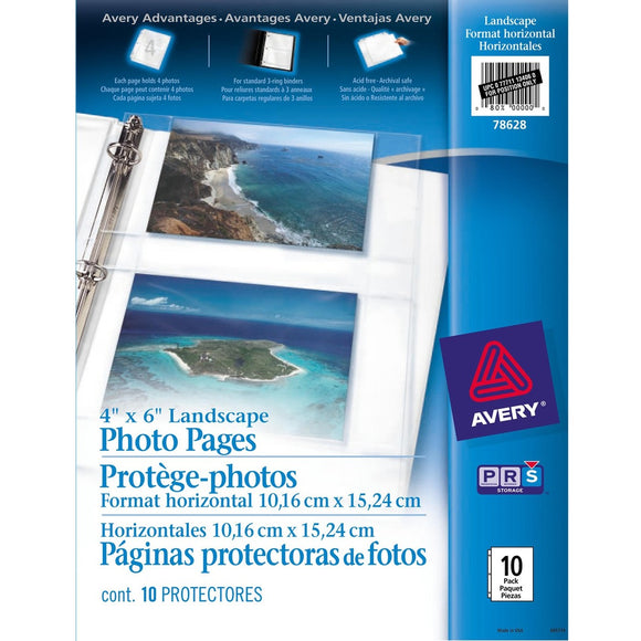 Avery® Horizontal Photo Page