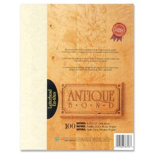First Base Antique Bond 78723 Laser Bond Paper