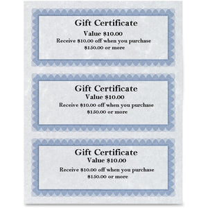 First Base Regent Gift Certificate