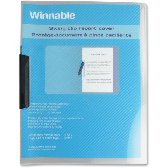 Winnable RP910. Swing Clip Report Cover