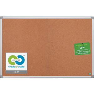 MasterVision Aluminum Frame Recycled Cork Boards