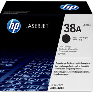 HP 38A (Q1338A) Original Toner Cartridge - Single Pack - The Supply Room