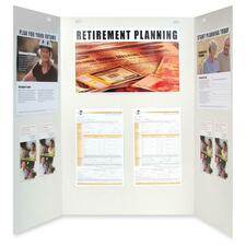 Quartet Trifold Presentation/Project Board