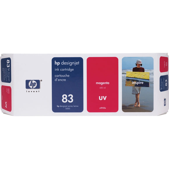 HP 83 (C4942A) Original Ink Cartridge - Single Pack - The Supply Room