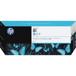 HP 81 (C4931A) Original Ink Cartridge - Single Pack - The Supply Room