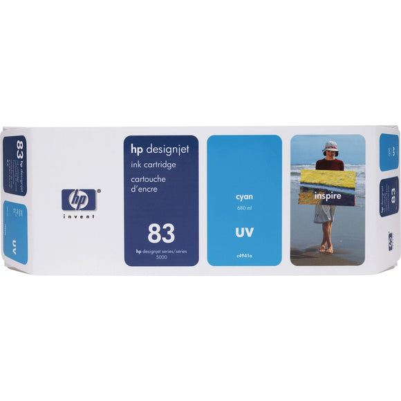 HP 83 (C4941A) Original Ink Cartridge - Single Pack - The Supply Room