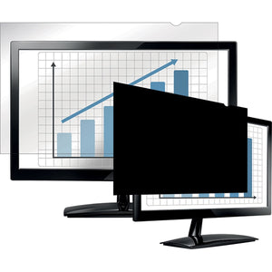 "Fellowes PrivaScreen™ Blackout Privacy Filter - 24.0"" Wide"