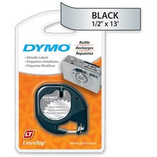 Dymo LetraTag Label Maker Tape Cartridge - The Supply Room