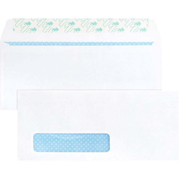 Business Source Security Tint Window Envelopes