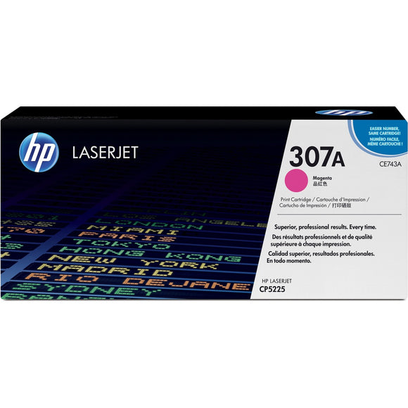 HP 307A (CE743A) Original Toner Cartridge - Single Pack