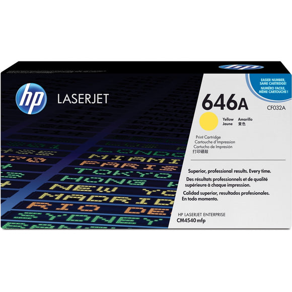 HP 646A (CF032A) Original Toner Cartridge - Single Pack