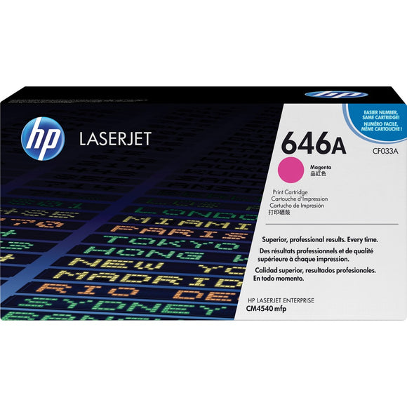 HP 646A (CF033A) Original Toner Cartridge - Single Pack