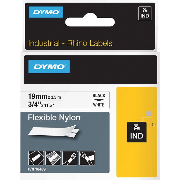 Dymo Rhino Flexible Nylon Labels - The Supply Room