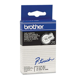 Brother P-touch TC201 Label Tape - The Supply Room