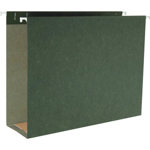 Business Source 1/5 Cut Box Bottom Hanging Legal Folders