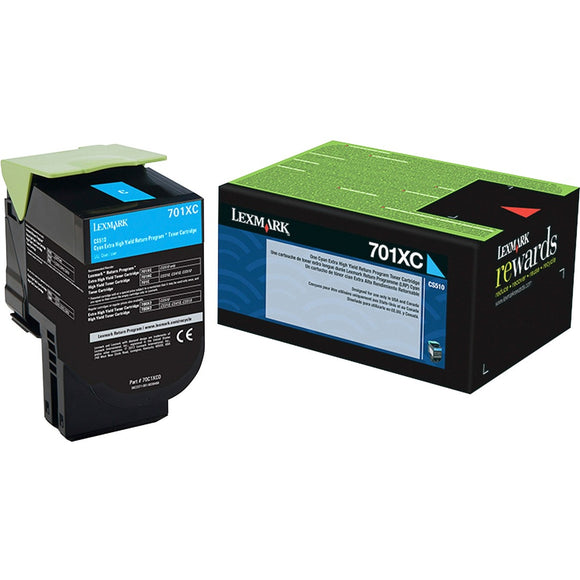 Lexmark Unison 701XC Toner Cartridge