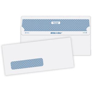 Quality Park Reveal-N-Seal Single Window Envelope