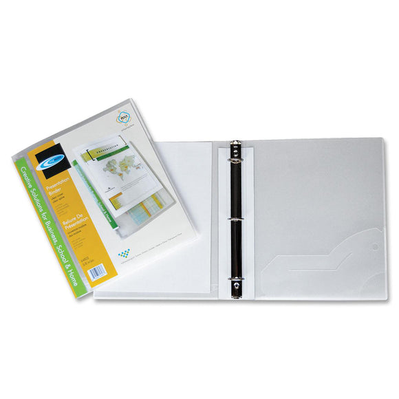 Filemode Round Ring Presentation Binder
