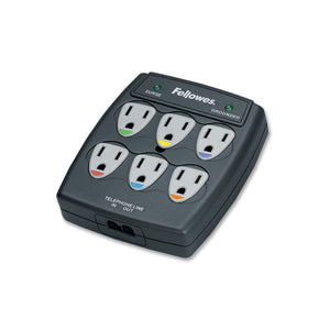 Fellowes 6 Outlet Surge Suppressor - The Supply Room