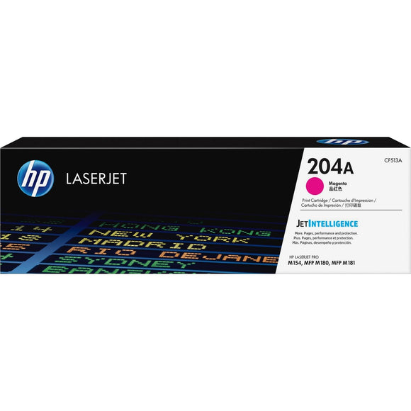 HP 204A (CF513A) Toner Cartridge - Magenta