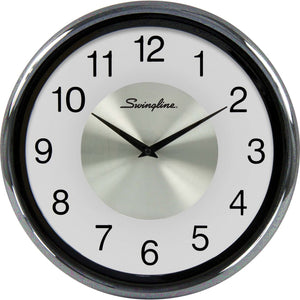 Swingline Round Fashion Clock