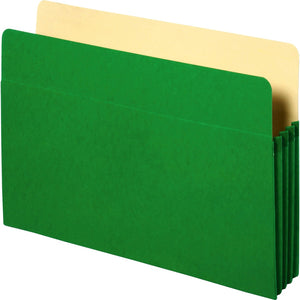 Business Source Coloured Expanding File Pockets