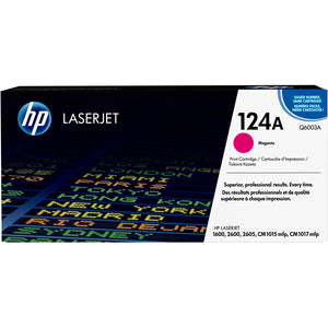 HP 124A (Q6003A) Original Toner Cartridge - Single Pack - The Supply Room