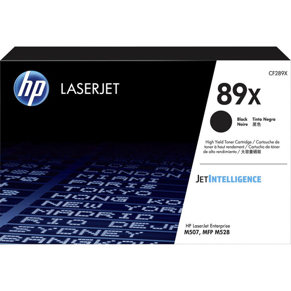 HP 89X (CF289X) Toner Cartridge - Black