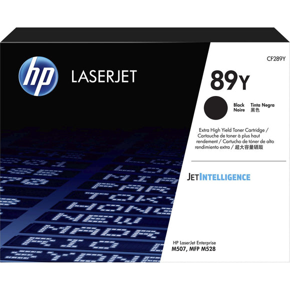HP 89Y (CF289Y) Toner Cartridge - Black