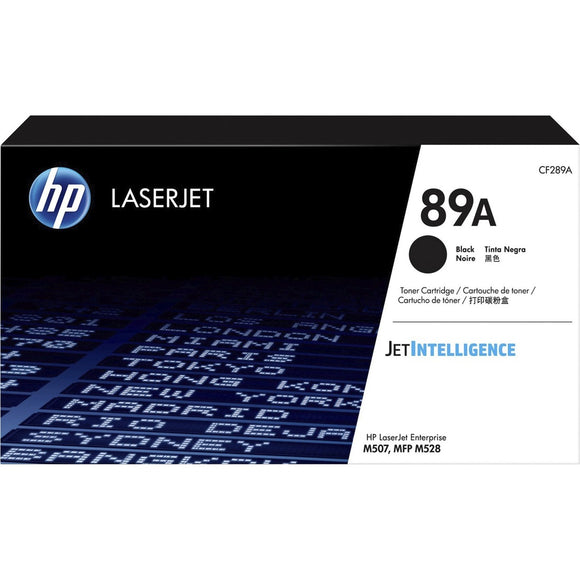 HP 89A (CF289A) Toner Cartridge - Black