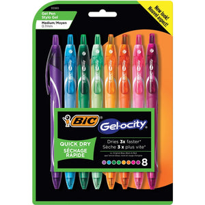 BIC Gel-ocity 0.7mm Retractable Pen