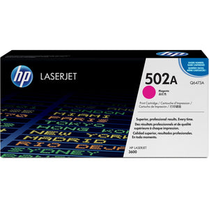 HP 502A (Q6473A) Original Toner Cartridge - Single Pack - The Supply Room