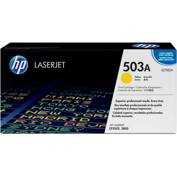 HP 503A (Q7582A) Original Toner Cartridge - Single Pack