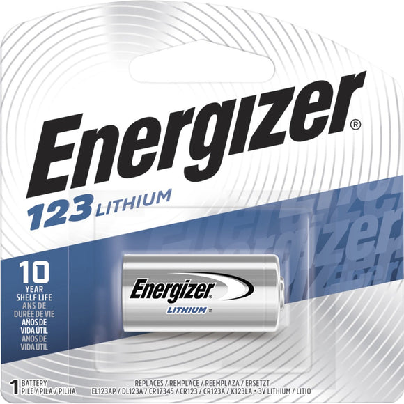Energizer Lithium 123 3-Volt Battery - The Supply Room