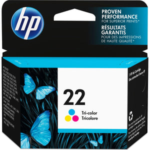 HP 22 Original Ink Cartridge - Single Pack - The Supply Room