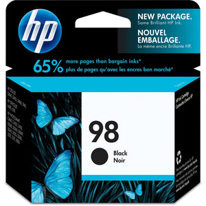 HP 98 Original Ink Cartridge - Single Pack