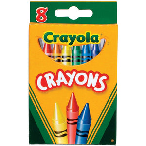 Crayola Tuck Box Classic Childrens Crayons