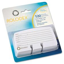 Rolodex Rotary File Petite Card Refills