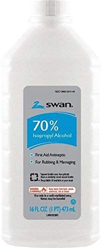 16 Oz Clear Liquid 70% Alcohol Isopropyl